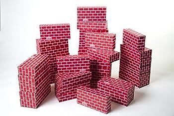 Mondo Bloxx 40 Pack Brick Block Set  12x6x3  USA Made!