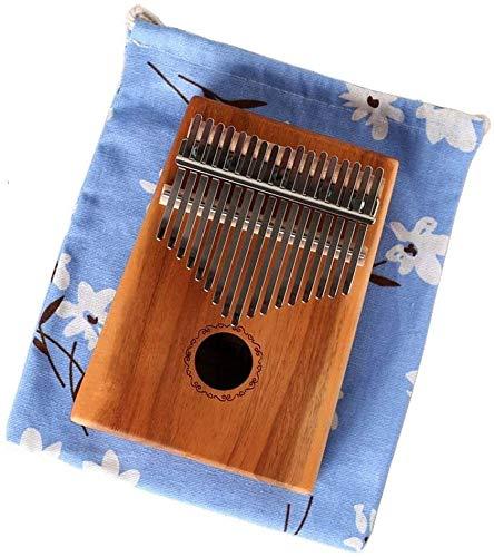 Kalimba Piano De Pulgar Marimbas Piano Portátil Kalimba Estándar C-Sintonizado Thumb Piano 17-Clave Portátil Piano Piano Madera Tono Metal Con Tuning Hammer Tote Para Niños Adultos Principiantes (Colo