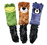 KONG - Kickeroo Cozie - Play Enticing Cat Toy, North American Preium Catnip (Assorted Characters)