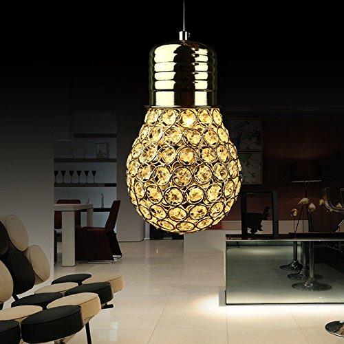 Global-LED lampadari di cristallo di lusso a tre testa creativa Restaurant