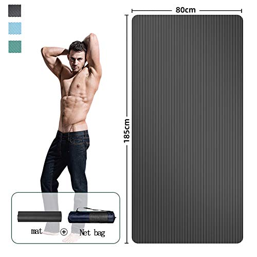 LYhomesick - Matten für Pilates in Black, Größe 185*80CM B