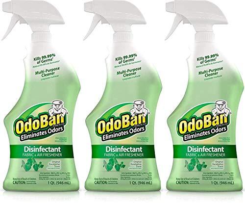 32 Oz Ready-to-Use Disinfectant Fabric & Air Freshener (1, eucalyptus Original) (3Count)…