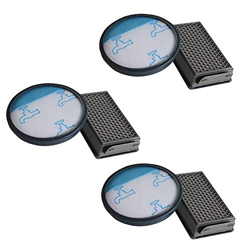 Filtros HEPA para aspiradora Rowenta/Moulinex/Tefal Compact Power Cyclonic, 3 unidades