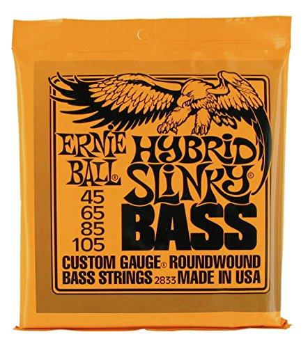 CUERDAS BAJO ELECTRICO - Ernie Ball (2833) Hybrid (Juego Completo 045/065/085/105)