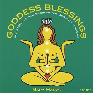 Goddess Blessings (2 Cd Set: Goddess Mantra Chants & Daily Meditations)