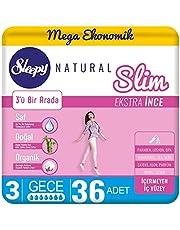 Sleepy Natural Slim Extra İnce Gece, 36 Adet