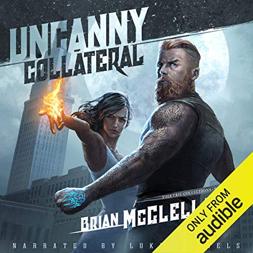 Uncanny Collateral audiobook cover art