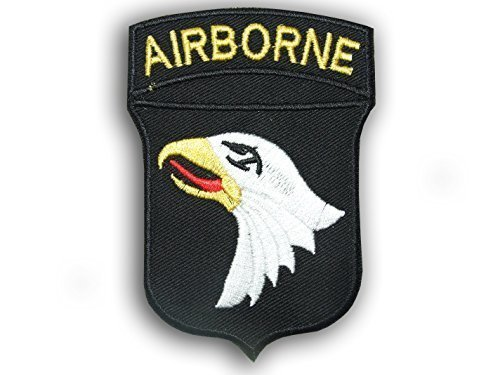 WW2 Airborne 101th Division Eagle US Army Airforce Iron on Patch Badge Insignia by ONEKOOL