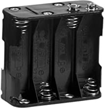 8 AA Battery Holder with Snap Connector 12V / 9.6V by Corpco