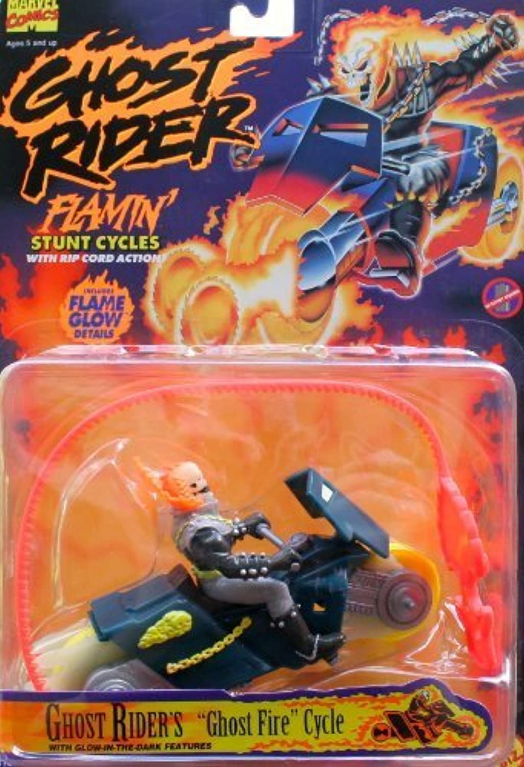 Ghost Rider's Ghost Fire Cycle by Toy Biz
