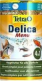 TetraDelica - Comida natural para peces (para peces ornamentales, kril, daphnias, pulgas de agua, salmueras, gusanos de sangre, larvas de mosquito rojas) de diferentes tipos y tamaños
