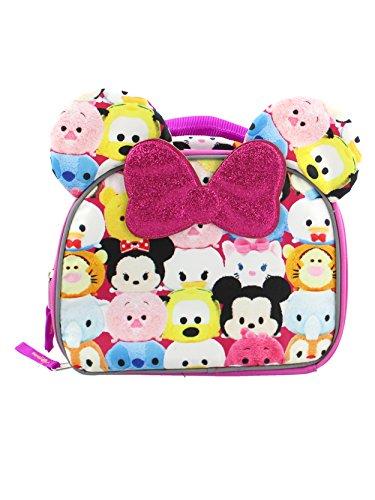 Tsum Tsum Girls Soft Lunch Box (One Size, Pink/Multi)