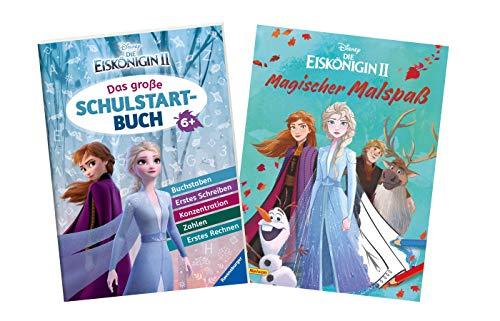 Buchspielbox Disney Frozen 2 - Juego de libro de iniciación escolar (libro de bolsillo y diversión mágica)