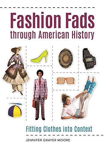 Fashion Fads Through American History: Fitting Clothes into Context (English Edition)