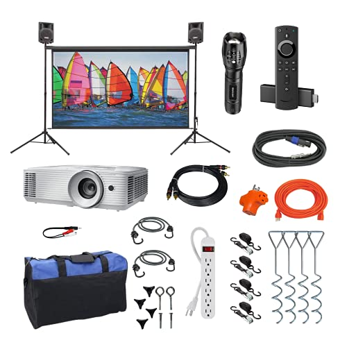Indoor/Outdoor Theater Kit   Silverscreen Series System   Projection...