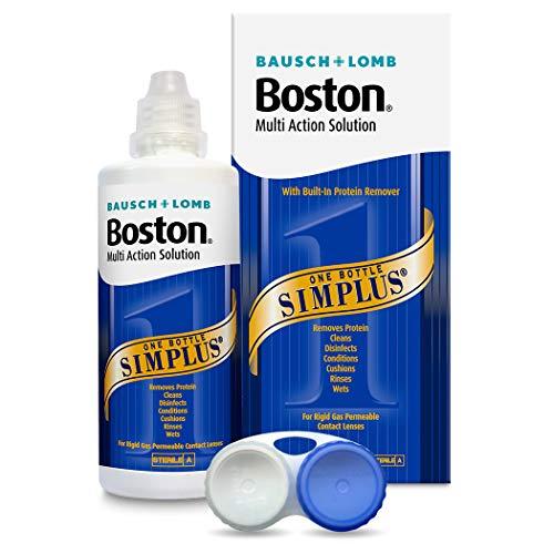 Bausch & Lomb Boston Simplus Multi Action-Lösung für RGP-Linsen, 120ml.