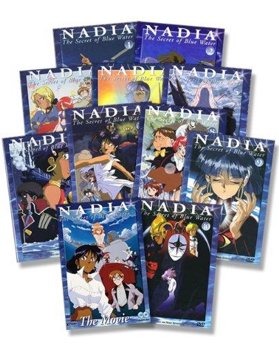 Nadia - The Secret of Blue Water Set Vol. 01-10 + Movie