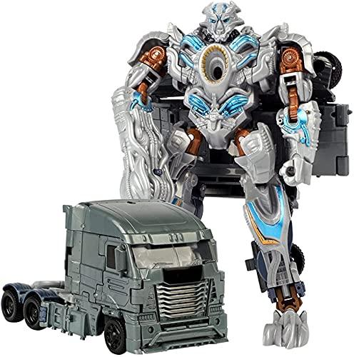 LUSTAR Transformers Juguete 2 En 1 Clase Voyager Clase KO Figura De Acción Robot Sorprendido Regalo para Niños De 6 Años Y hasta 7.5 Pulgadas