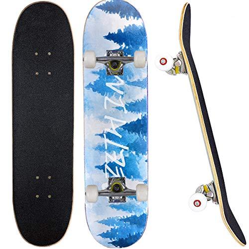 Skateboard Completo para Adultos y Niños con Rotamiento 31