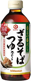 キッコーマン食品 香る一番だし ざるそばつゆ 500ml×3本