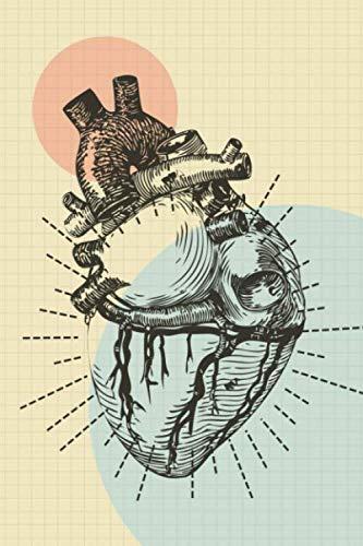 Krankenschwester Notizbuch: Pflegplaner / Journal / Organizer für Krankenschwestern & Pfleger zum ausfüllen und eintragen mit Vorlage & Checkliste | anatomisches Herz Motiv