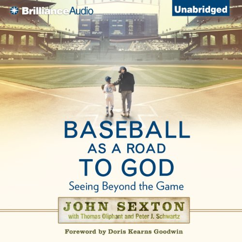 Baseball as a Road to God audiobook cover art
