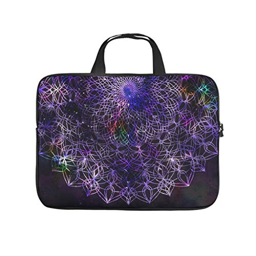 Laptop Bag Black Waterproof Modern Design Laptop Bag Compatible with 13-15.6 Inch Notebook White 10 Inch