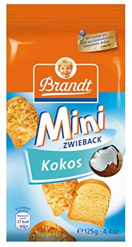 Brandt Mini Kokos-Zwieback, 125 g Packung
