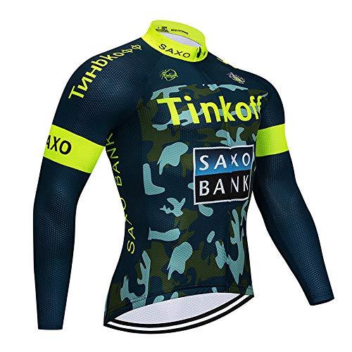 Topbike fietskleding herfst, fietsshirt met lange mouwen voor MTB
