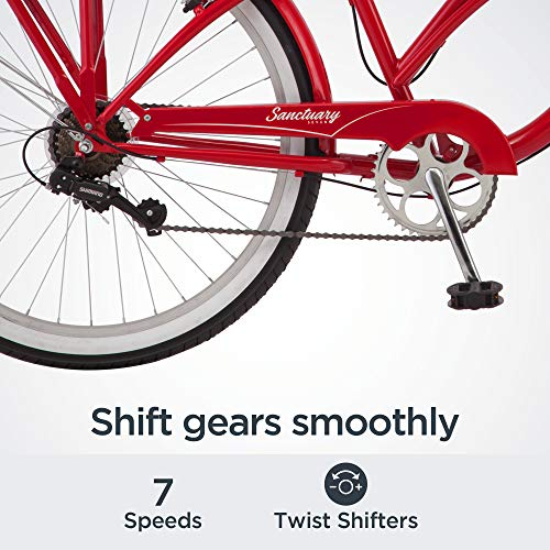 51ZpiTiUXQL。 SL500 Schwinn Discover Hybrid Bike for Men and Women