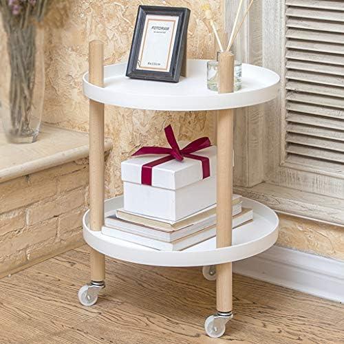 Bücherregal, Massivholz Dekor Display Aufbewahrungsregale, tragbare Utility Flower Stand Organizer Rack, für Home Office (4 Styles)