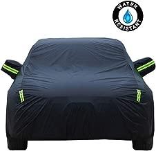 Compatible con Honda Accord Sedan/Saloon Funda para coche Cubierta del Coche Exterior del Coche Car Carpa Lona de coche Ropa de coche Protector solar Aislante A prueba de polvo Parasol Car Cover