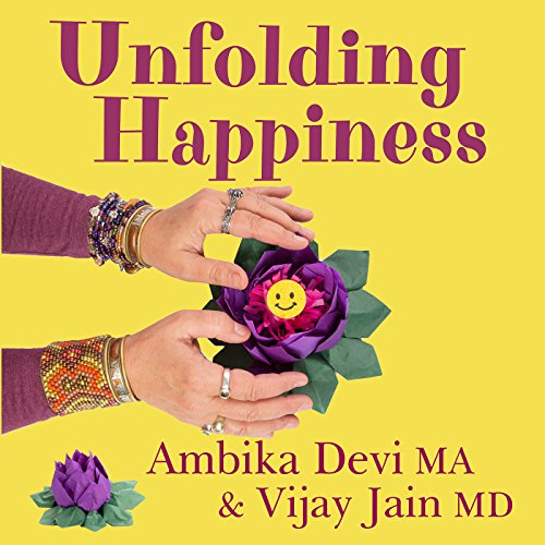 Unfolding Happiness audiobook cover art