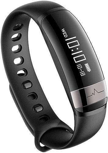 Fzwang Bracelet Intelligent Sport cardiofréquencemètre podomètre étanche Bracelet de Mode