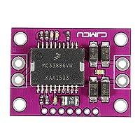 電子モジュール 自動車用コンピュータボードアイドルスピードスロットルドライバボードA HブリッジセンサーモジュールMC33186DH1