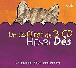 Coffret 3 CD : Henri Des /Vol.1