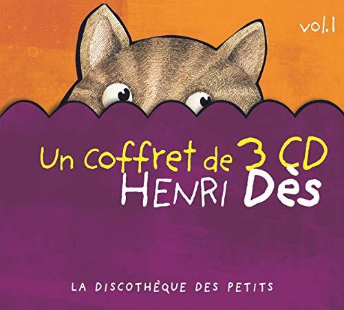 Coffret 3 CD Henri Dès