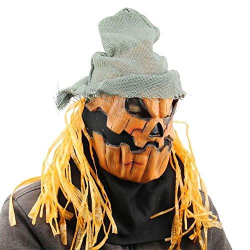 SHOUSBOXHI Demon Clown Masker Halloween Horror Verschrikkelijke Enge Masker Volwassen Mannen Latex Rood Haar Halloween Clown Evil Killer