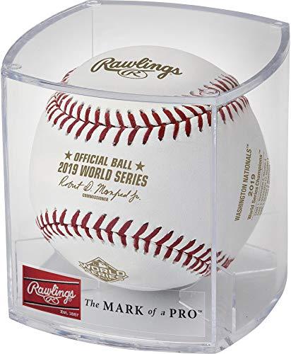 Washington Nationals 2019 World Series Champions Logo Baseball - MLB Baseballs
