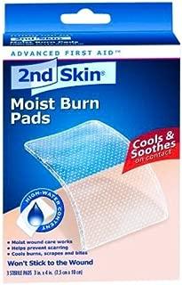 2nd Skin First Aid Moist Wound Care Burn Pad 3