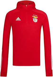 Adidas SL Benfica Red Hooded Sweater 2020-21 Sweatshirt Unisexe pour Enfants Taille Unique Rouge