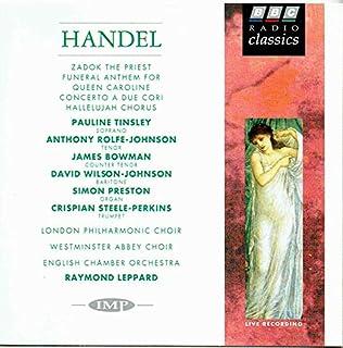 Handel;Zadok the Priest/etc