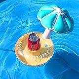 gousheng Portavasos Flotantes para Piscina De Bebidas Inflables, Posavasos Inflables para Fiestas En La Piscina Y Juguetes De BañO para NiñOs Piscina Inflable En Balsa
