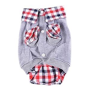Nibesser vetements Sweat-shirt en Conton Costume Chien Vetements Tenue Drole Animal De Compagnie