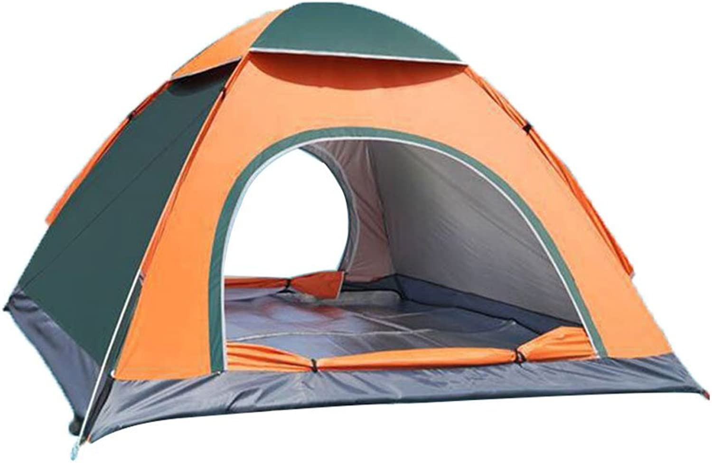YxlAB Outdoor-Single-Saison-Vier-Jahreszeiten-Zelte öffnen in 2 Sekunden 3-4 Personen Zelt automatische automatische automatische Doppel-Person Multi-Person-Schutz Regen-Sonnenschutz Camping B07DPKP2NR  Vollständige Palette von Spezifikationen a3b80d