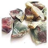 JSJJPLM Piedra de Cristal Natural Qin Purple Jade Antiguo Chino Misterioso Piedra áspera El único Lugar en el Mundo Material de joyería de ágata Verde púrpura Materal Mineral