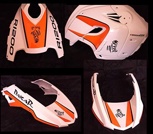 Vultur Bike Sticker Set Dakar - R1200 GS 2008/2012 oranje