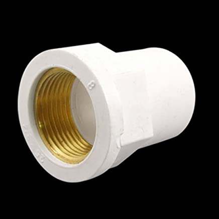 25mm Slip 1//5,1cm PT Messing Innengewinde PVC-Rohr Gerade Connect Adapter