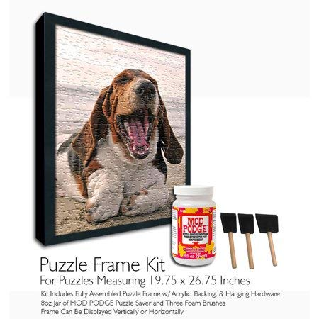 Mod Podge Jigsaw Puzzle Frame Kit - For Puzzles Measuring 19.75x26.75 Inches