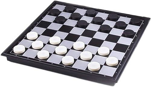 mejor reputación Ajedrez Creativo Juego de de de damas de plástico para Niños Estudiantes de ajedrez Rompecabezas de piezas de ajedrez magnéticas de cuadrícula 64 100 Plegables damas portátiles de ajedrez Tablero de Ajedrez  Las ventas en línea ahorran un 70%.